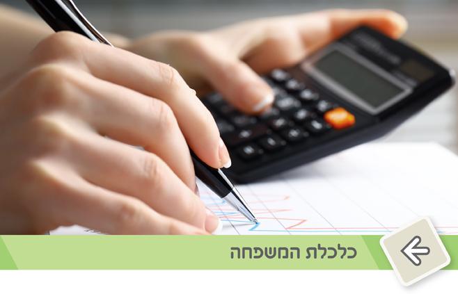 ייעוץ בנושא כלכלת המשפחה, ניהול תקציב ועוד